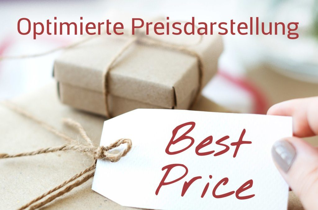 Preise auf Ihrer Website – Studie zeigt: so geht es richtig