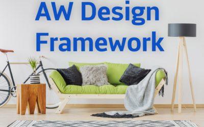 Landingpage mit dem AW Design Framework erstellen