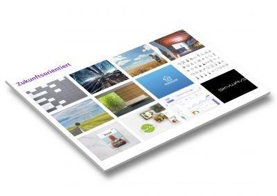 """Moodboard für den stärksten Soll-Markenwert """"Modern"""""""