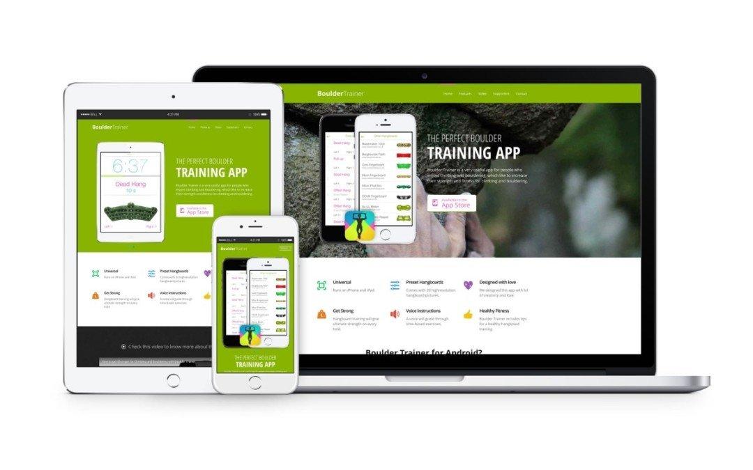 Apnea Trainer App und Vermarktung