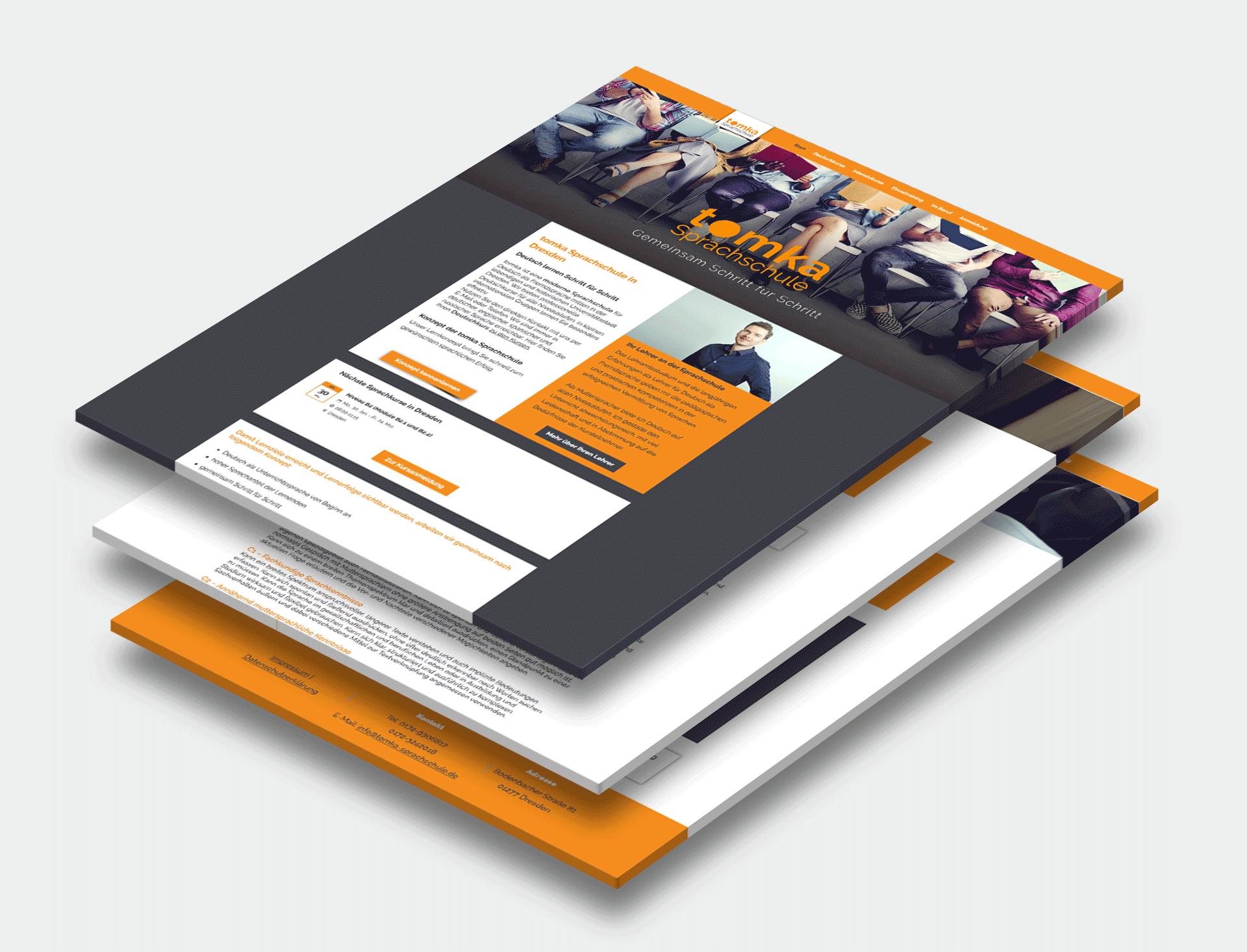 Website für Sprachschule - appbisweb