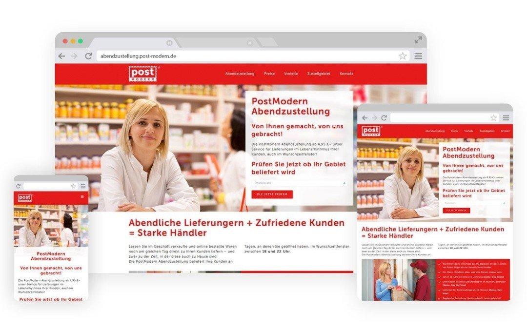 Webdesign für PostModern