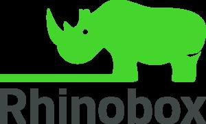 Selfstorage Logo - grünes Nashorn