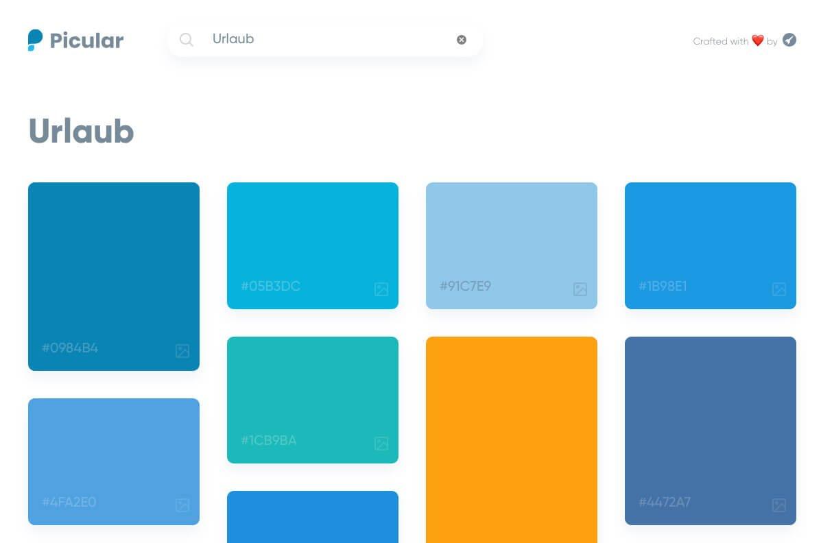 Picular - Das Google für Farben