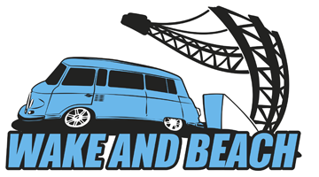 Wake and Beach Logo Freizeitunternehmen