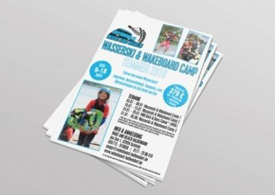 Poster Wakeboard Kidscamp