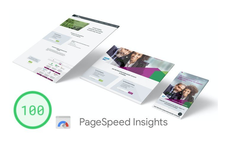 WordPress mit 100 Google Pagespeed Test