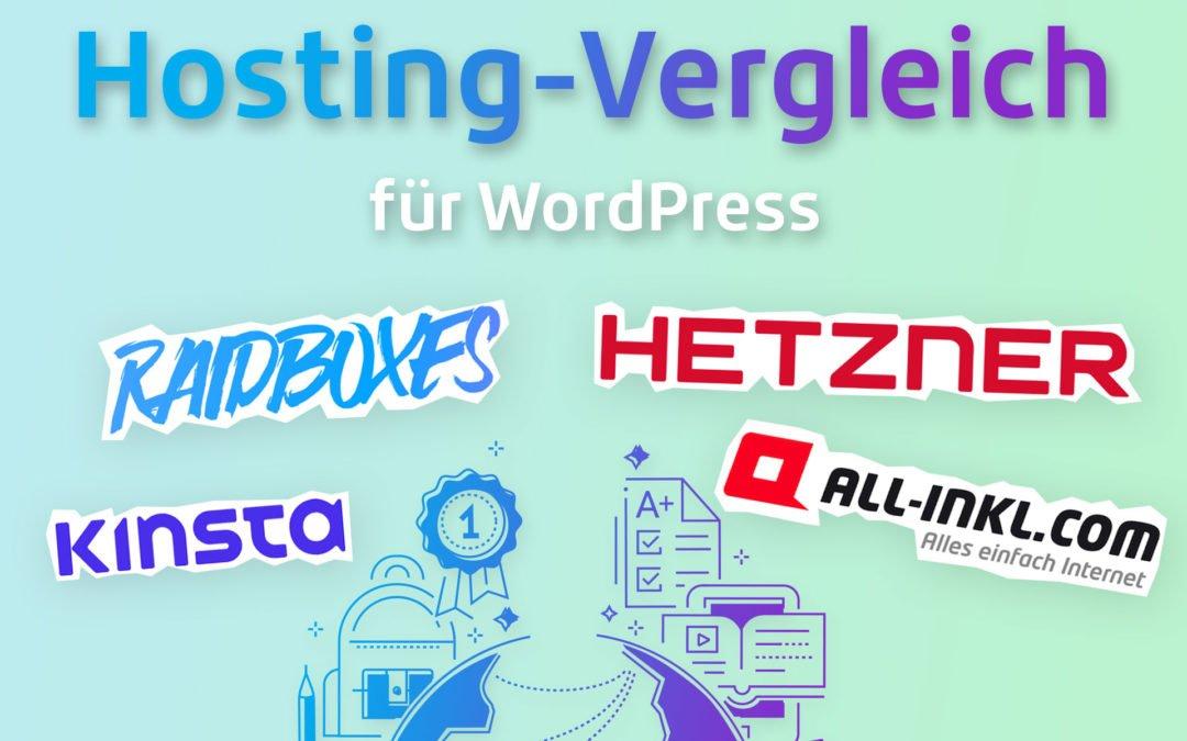 Hosting-Vergleich für WordPress Websites