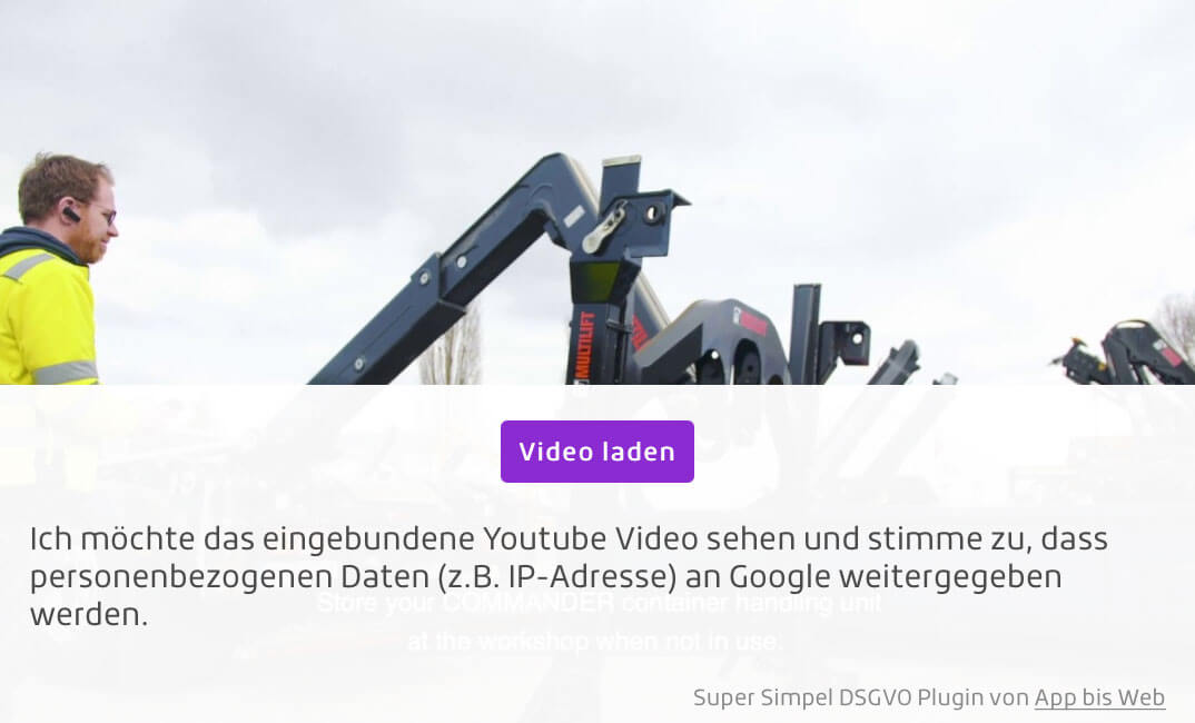 Youtube Video dsgvo-konform in WordPress einbinden