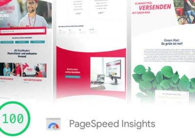 PostModern Kunden-Website